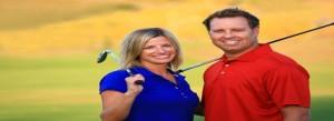 Couples Golf Shot